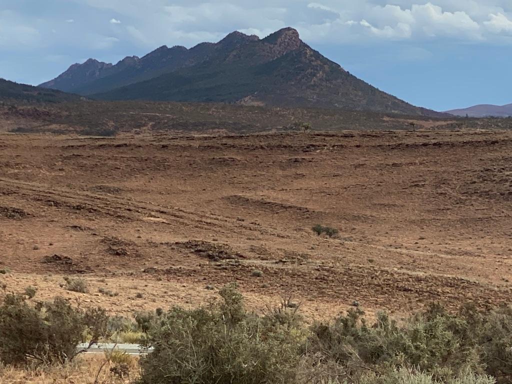 Stunning views of the Flinders Rangers